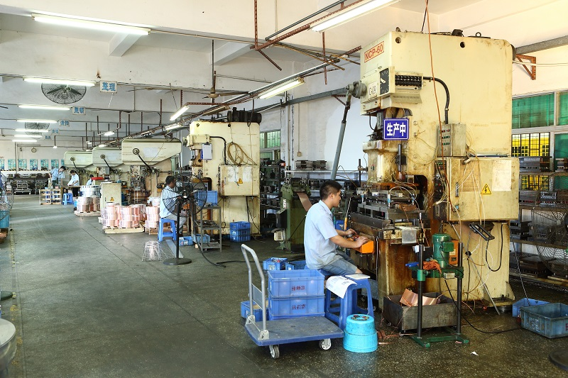 stamping process factory